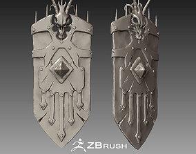 Zbrush Shield 2 3D