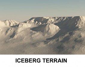 3d Terrain IceBerg