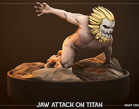 3D print model Attack On Titans - Jaw Figurine