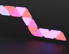 3D model Nanoleaf Aurora Modular Smart Lighting