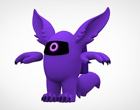 3D model Among Us Purple Werewolf