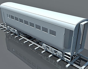 Model of Train Wagon