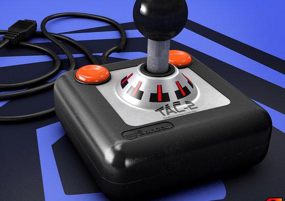 Suncom 80s Joystick TAC2