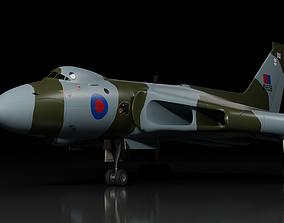 3D model Avro Vulcan B2 bomber