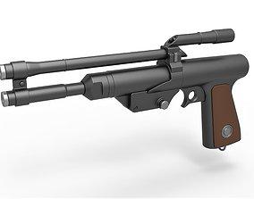 3D model Blaster Pistol of Boba Fett from The 3