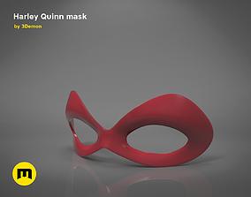 Harley Quinn mask 3D print model