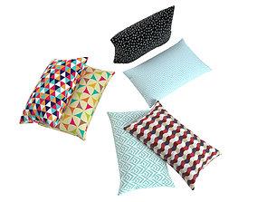 Pillow multi color 3D model