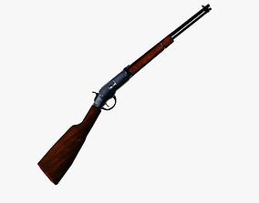 Rifle 3D asset