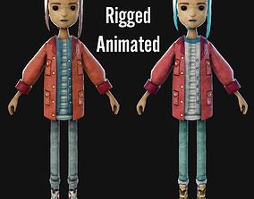 Alex Character 3D model
