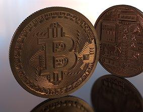 Bitcoin Highpoly 3D model