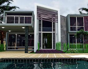 3D model casa Beach house