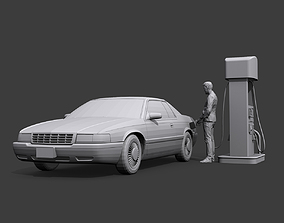 On Gas Station 3D