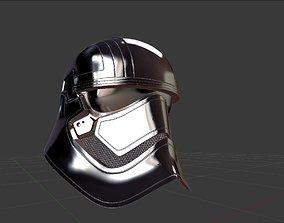 Captain Phasma Helmet 3D asset