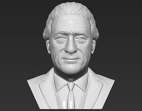 Robert De Niro bust 3D printing ready stl obj