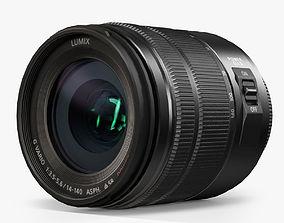 3D model Panasonic Lumix G Vario 14-140mm f3-5 5-6 ASPH 2