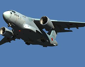 JASDF Kawasaki C-2 Cargo Plane revised edition 3D