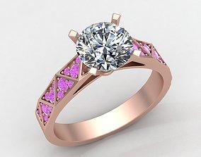 3D print model Signature Laurence Gold Ring Replica