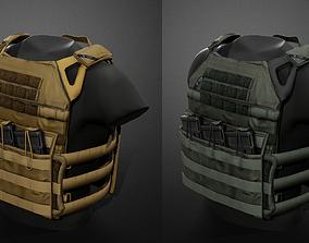 JPC Vest 3D asset