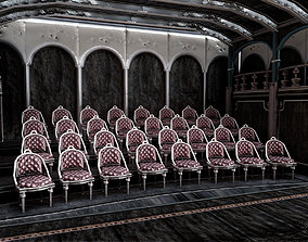 Opera Salon 3D model realtime