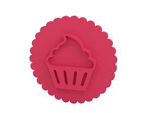 3D print model kitchen Cookie stamp - Stamp