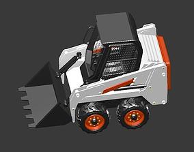 3D asset Bobcat Truck