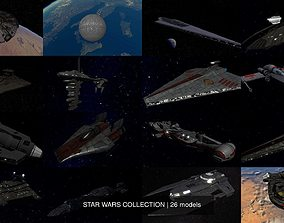 3D model STAR WARS COLLECTION