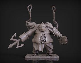 Pudge - Dota 2 3D print model high