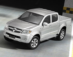 3D model Toyota Hilux suv