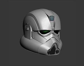 Clone Engineer Cosplay Helmet 3D printable model
