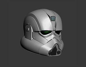 Clone Engineer Cosplay Helmet 3D print model