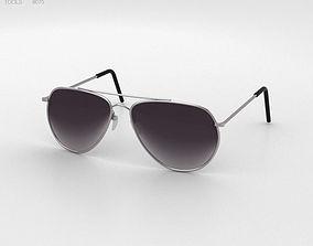 3D model Police Sunglasses