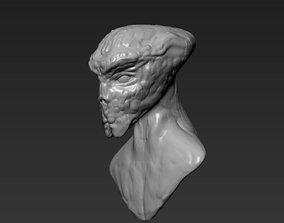 3D printable model Alien Head 8