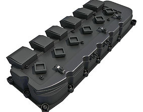 3D Engine Valve Cover B valve