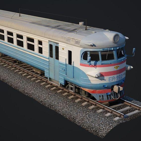 Classic train russian  3D Models Russian
