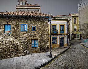 Old town photogrammetry raw scan 3D model