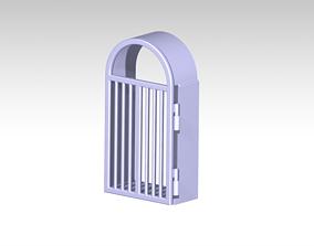 Open movable Gate 3D print model