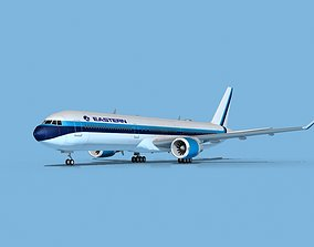 Boeing 767-400 Eastern Airlines 2 3D model