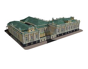 3D model House Veteranskogo historical