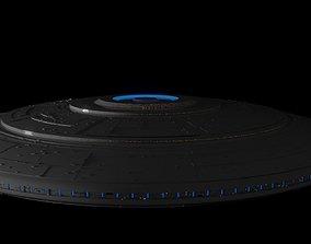 Saucer Concept 7 3D model PBR