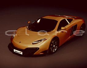 3D asset McLaren NewQue Concept