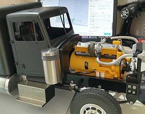 3D print model CAT 3406C - Caterpillar Diesel Motor 1-14