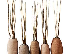 Dry branc vase decor n4 3D