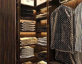 Interior Neoclassic Wardrobe 02 3D