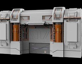 sci-fi Architectural element 12 3D model