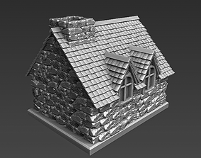 Medieval house for 3D printing