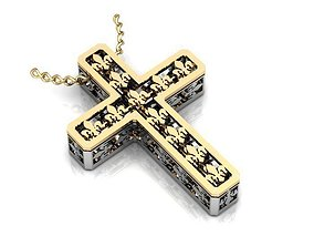 3D Cross model BR055