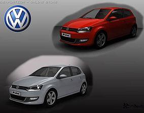 3D Volkswagen Polo 2010 Pack