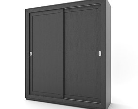 wardrobe 3D asset furniture