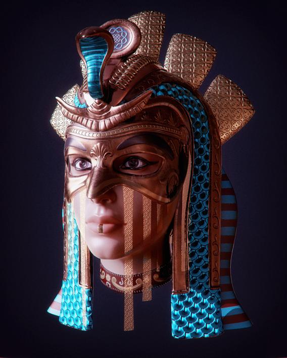 Egypt Mask - Cleopatra