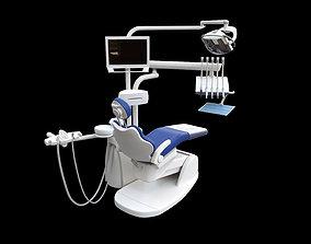Dentist Chair rigged 3D asset
